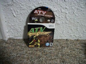 Nintendo Wii ATV quad kings game