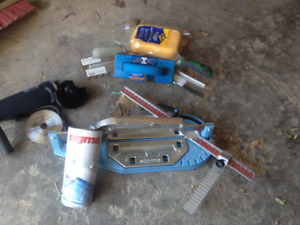 """Brand new 14"""" Sigma pull handle Tile Cutter + installation kit"""