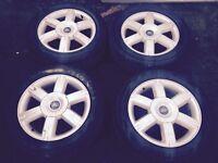 Ford Focus 16 inch six spoke aloy wheels (2008)