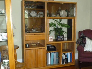 Oak Entertainment Unit for sale