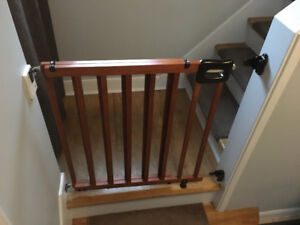Baby gate.
