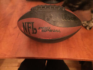 football ballon wilson nfl