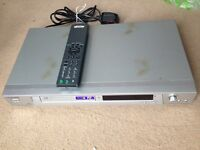 Sony DVD player, complete with remote.