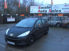2008 PEUGEOT 207 S 1.4L ONLY 77,975 MILES, FULL SERVICE HISTORY, IDEAL 1ST CAR
