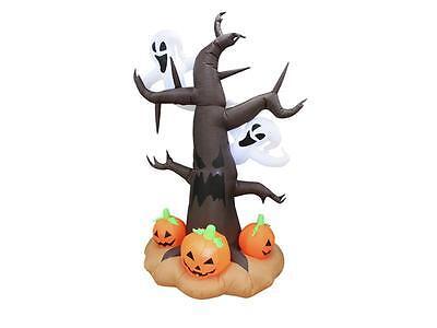 Europalms Halloween Aufblasbare Figur Spukbaum 240cm