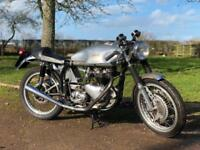 "Triton ""Historic"" 1965 650cc. This Lovely ""High Spec"" Classic British Cafe Racer"