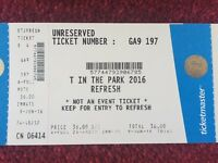 T in the Park Refresh Ticket