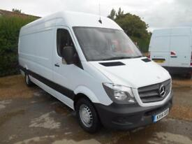 2014 14 MERCEDES-BENZ SPRINTER 313 CDI LWB 4M VAN NEW SHAPE VERY CLEAN VAN
