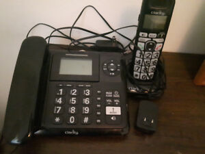 "Cordless and Handset ""Clarity"" & ""General Electric white Phone"