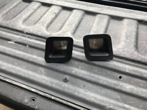Pair Dodge Ram rear bumper license plate light