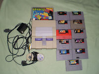 Super Nintendo with 11 games 1 ctrl