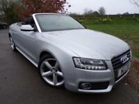 2011 Audi A5 2.0 TFSI S line Cabriolet 2dr 2 door Convertible