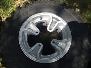 Can-am ATV tires and rims