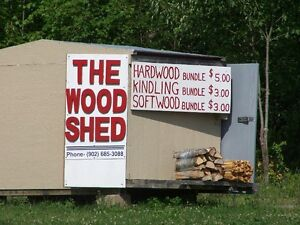 DRY FIREWOOD AND KINDLING