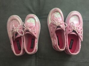 Girls Sperry Top-siders Shoes sizes 9,10.5,12, Toms girls 8
