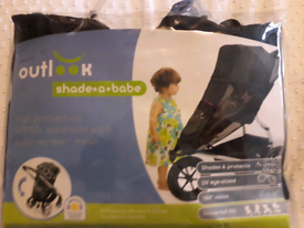 Shade-a-babe pushchair sunshine cover