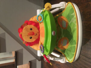 Fisher Price baby seat with lion theme