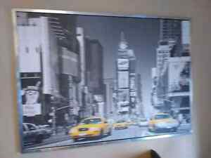 Time square framed photo