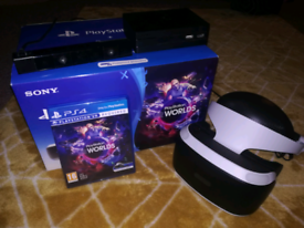 PSVR headset with PS Camera, game and PS5 adaptor