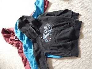 3 Hoodies for 10.00 (size 5)