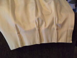 Drapes, 2 sets, rods/hooks included