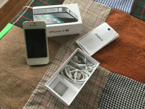 iPhone 4s unlocked, in box with accessories