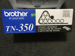Brand New Brother TN350 Black Toner Cartridge with Printer
