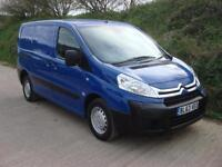 2014 63 Citroen Dispatch 1.6HDi 90 L1H1 1000 Blue FSH Van 1 Owner
