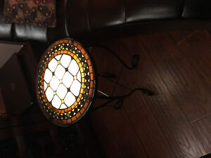 mosaic side table with light Windsor Region Ontario image 2