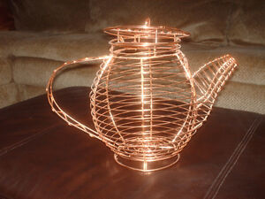 Copper Plated Tea Pot