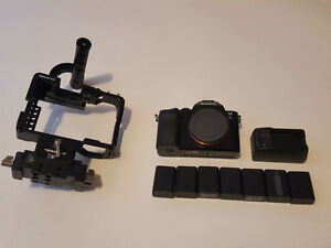 Sony A7s Camera with Movcam cage