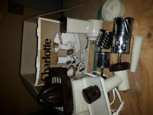 Food processor/juicer/meat grinder