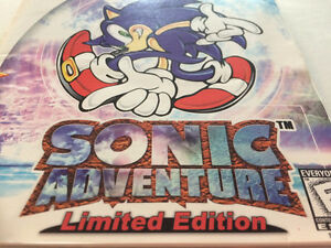 Sonic Adventure LIMITED EDITION (no cd) +  2CD NOT FOR RESALE