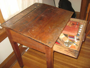Turn of the century drawing/writing desk. Belleville Belleville Area image 3