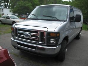 2014 Ford E-150 Commercial Wagon   76K