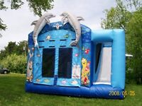 Inflatable Play Areas (Bouncers) and Party Supplies
