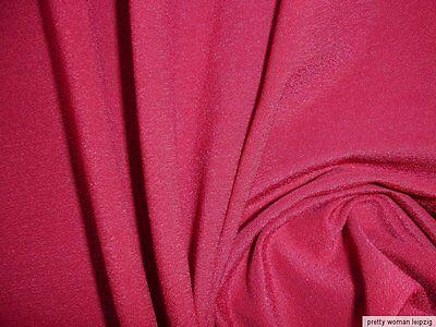 0,5 Lfm Jersey 3,15€/m² rumba red 160cm breit mit 34% Elasthan KC51