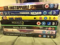 7 DVD FILMS FOR SALE