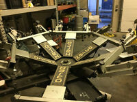 Screen printing Equipment Reduced price to 2,000