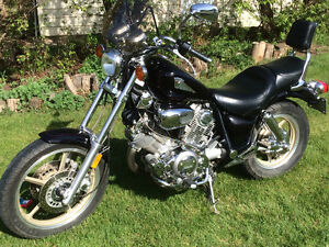 Oldie but like a new,low KM,shaft drive,V-twin