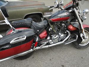Parting out 2005 Yamaha Royal Star XVZ13CT selling in parts only