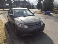 2004 Honda Civic Dx Sedan 2800!!!
