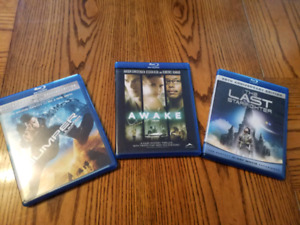 3 Blu-ray movies for $10