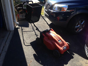 Cordless Electric Black and Decker Lawnmower