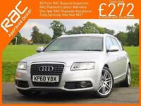 2011 Audi A6 2.0 TDI Turbo Diesel 170 PS S Line Special Edition 6 Speed Avant Es