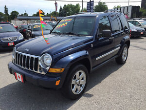 2006 Jeep Liberty LIMITED 4X4 SUV...LOADED MINT COND.