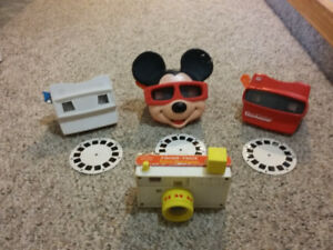 VIEWMASTER and Fisher Price CAMERA