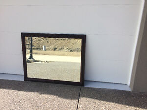 Large Antique Mirror