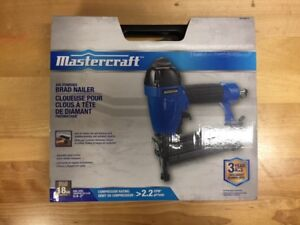 Mastercraft Brad Nailer - Brand New