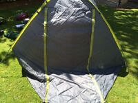 Grey Quick Erect Two Man Tent